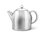 Doppelwandige Edelstahl-Teekannen