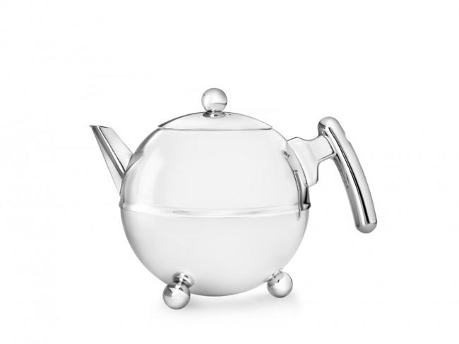 Teekanne Duet Bella Ronde 0,75L chrom