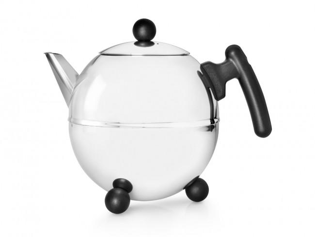 Teekanne Duet® Bella Ronde 1,5L schwarz