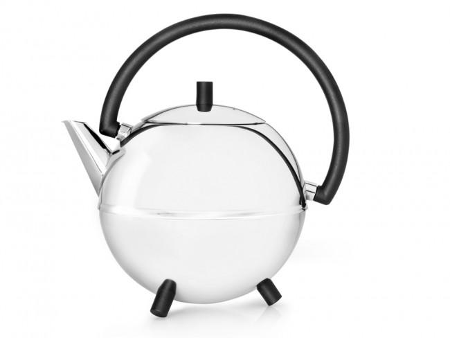 Teekanne Duet® Design Saturn 1,2L schwarz