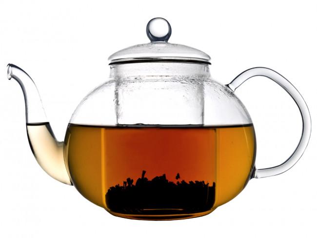 Teekanne Verona einwandiges Glas 1,0L