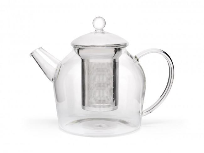 Teekanne Minuet Glas 1,2L + Edelstahlfilter