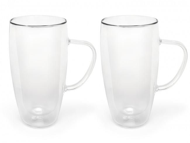 Doppelw. Capp. & Latte M.Glas 400ml 2erSet