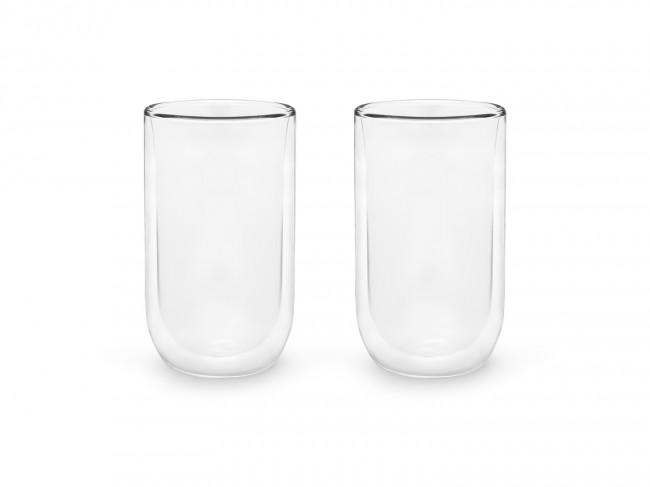 Doppelwandiges Glas 400ml 2er-Set