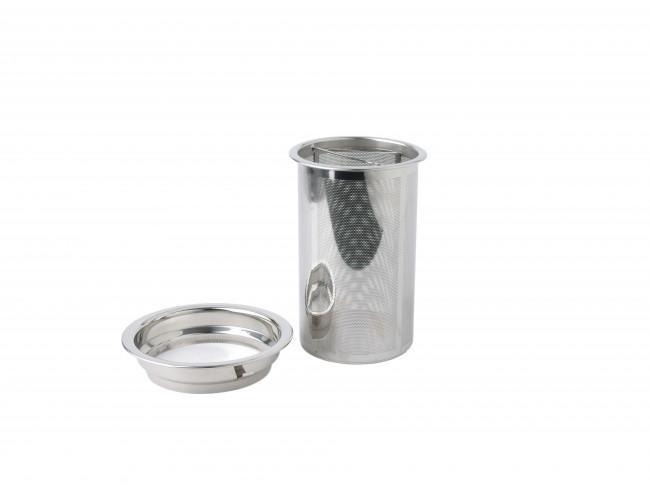Filter und Filterring Pisa 1565 Edelstahl - 1300ml