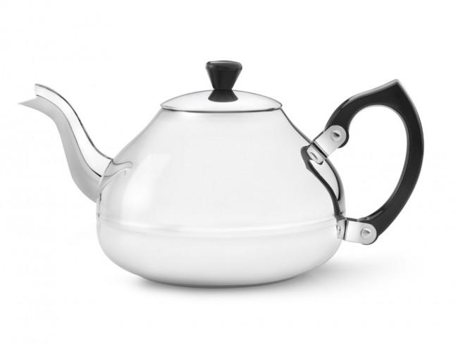 Teekanne Ceylon 1,25L einwandig Edelstahl