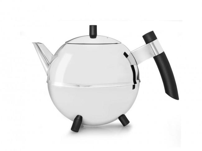 Teekanne Meteor 1,2L schwarz