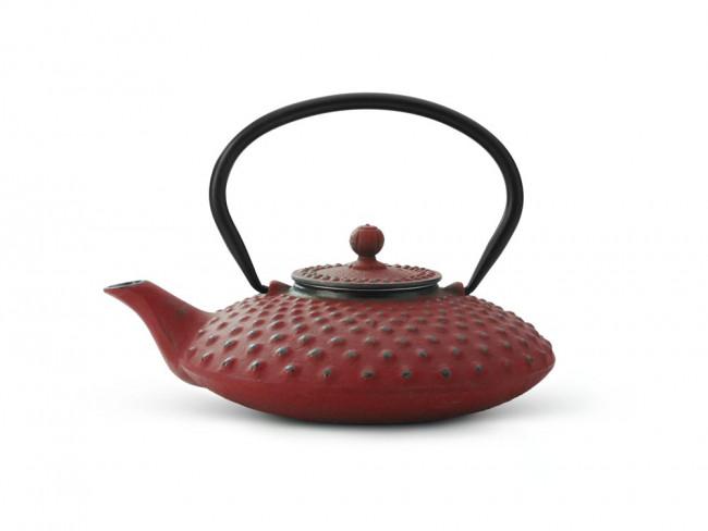 Teekanne Xilin Gusseisen 0,8L rot