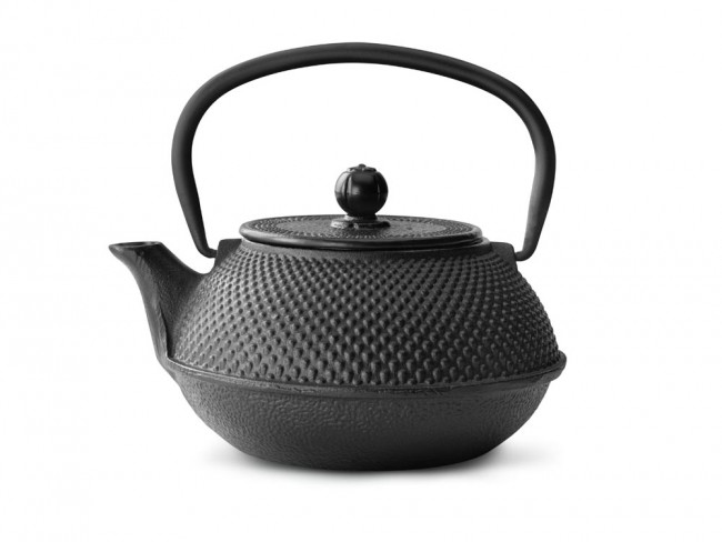 Teekanne Jang Gusseisen 0,8L schwarz