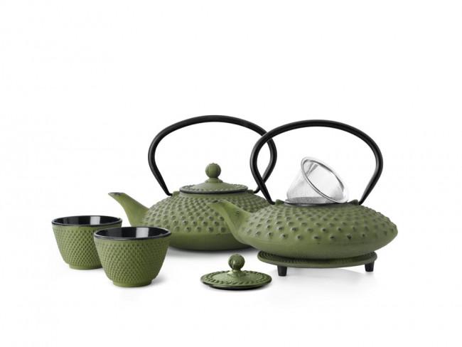 Teekanne Xilin Gusseisen 1,25L grün