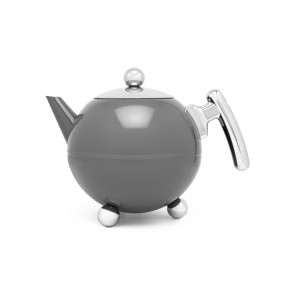 Teekanne Duet® Bella Ronde 1,2L dunkelgrau
