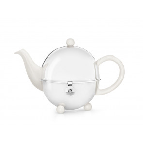 Teekanne Cosy 0,5L, crèmeweiβ