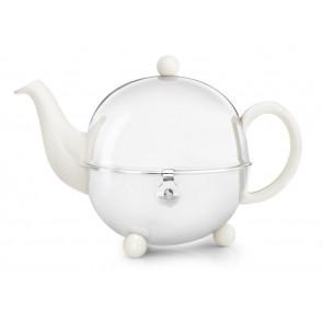 Teekanne Cosy 0,9L crèmeweiβ Steingut