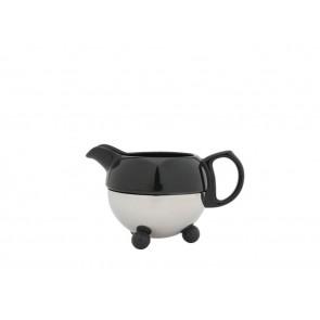 Cosy® Milchkännchen schwarz Steingut