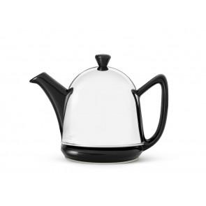 Teekanne Cosy® Manto 0,6L schwarz Steingut