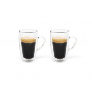 Doppelwandiges Espressoglas 100ml 2er-Set