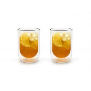 Doppelwandiges Glas 290ml 2er-Set