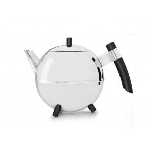 Teekanne Duet® Design Meteor 1,2L schwarz