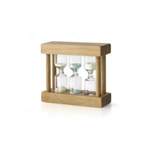 Teatimer 3fach Bambus 2/3/5 min.