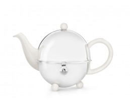 Teekanne Cosy 0,5L crèmeweiβ Steingut