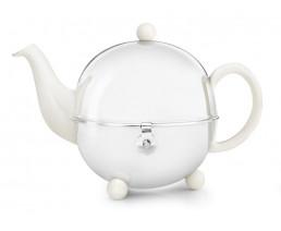 Teekanne Cosy® 0,9L crèmeweiβ Steingut