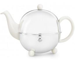 Teekanne Cosy 1,3L crèmeweiβ Steingut
