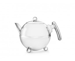 Teekanne Duet® Bella Ronde 0,75L chrom