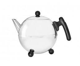 Teekanne Duet® Bella Ronde 1,2L schwarz