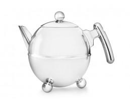 Teekanne Duet® Bella Ronde 1,5L chrom