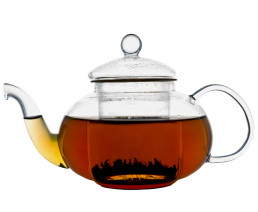 Teekanne Verona 0,5L einwandiges Glas