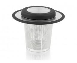 Universal-Teefilter mit Ablage/Deckel klein