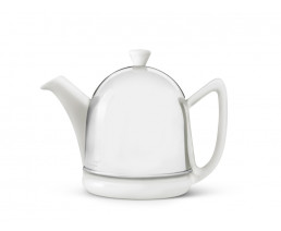 Teekanne Cosy Manto 0,6L weiβ Steingut