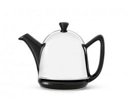 Teekanne Cosy Manto 0,6L schwarz Steingut