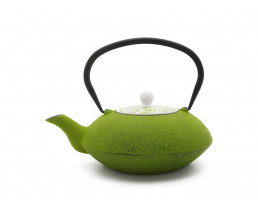 Teekanne Yantai Gusseisen 1,2L grün